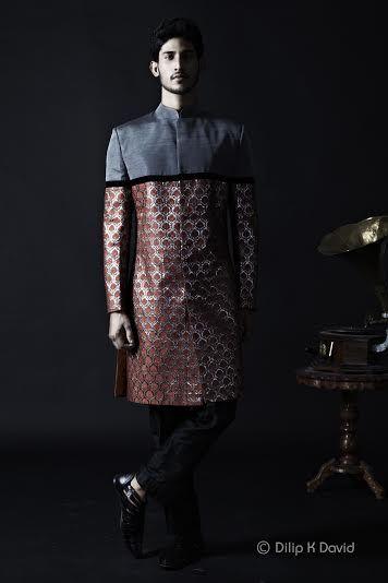 Hyderabad Based Designer Sagar Tenali Sherwani
