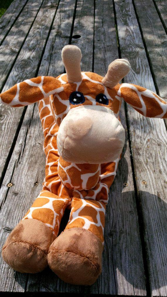 Giraffe STUFFED ANIMAL Pattern - Digital Download   Pinterest