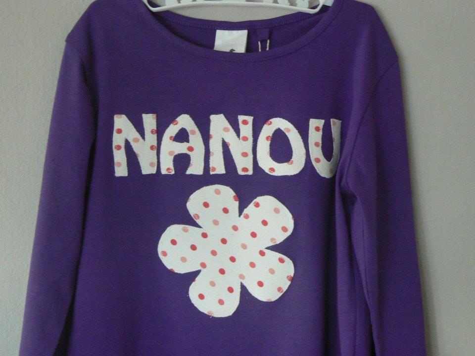 Name Tee. Nanou.