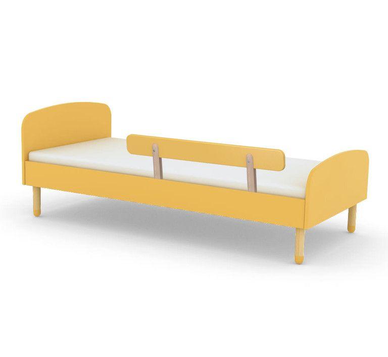 Einzelbett Flexa Play Absturzsicherung Gelb Kinder Bett Kinderbett Bett