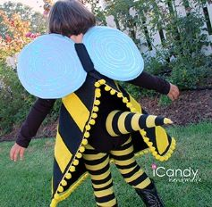 Tutorial: Bumblebee costume with wings and stinger