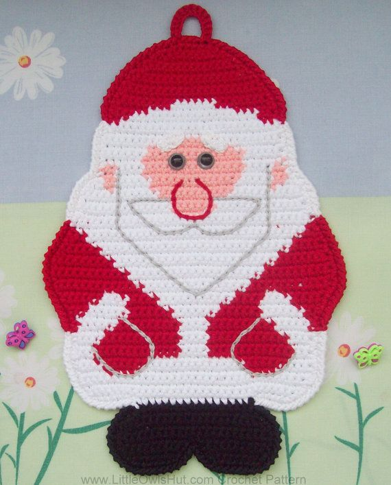 039 Santa Claus Crochet Pattern, Father Christmas, Father Frost ...