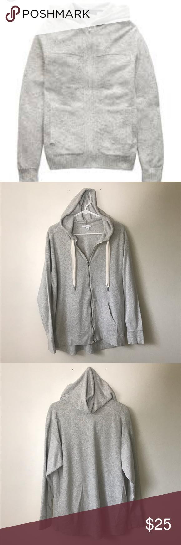 Mens Banana Republic Grey Hoodie Grey Hoodie Men Grey Hoodie Clothes Design [ 1740 x 580 Pixel ]