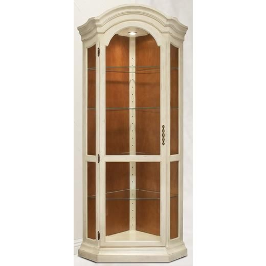 Philip Reinisch Philip Reinisch Color Time Panorama   Modern Corner Curio  Display Cabinet In Hardwood Alternate