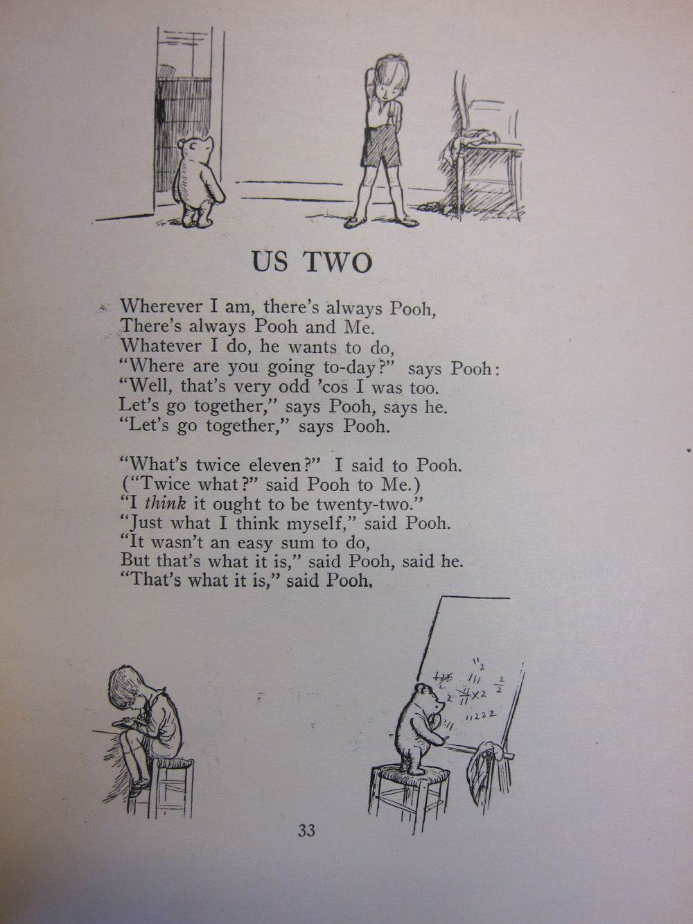 Zsr Special Collections Archives Blog Winnie The Pooh By A Wedding Readingsa Poema