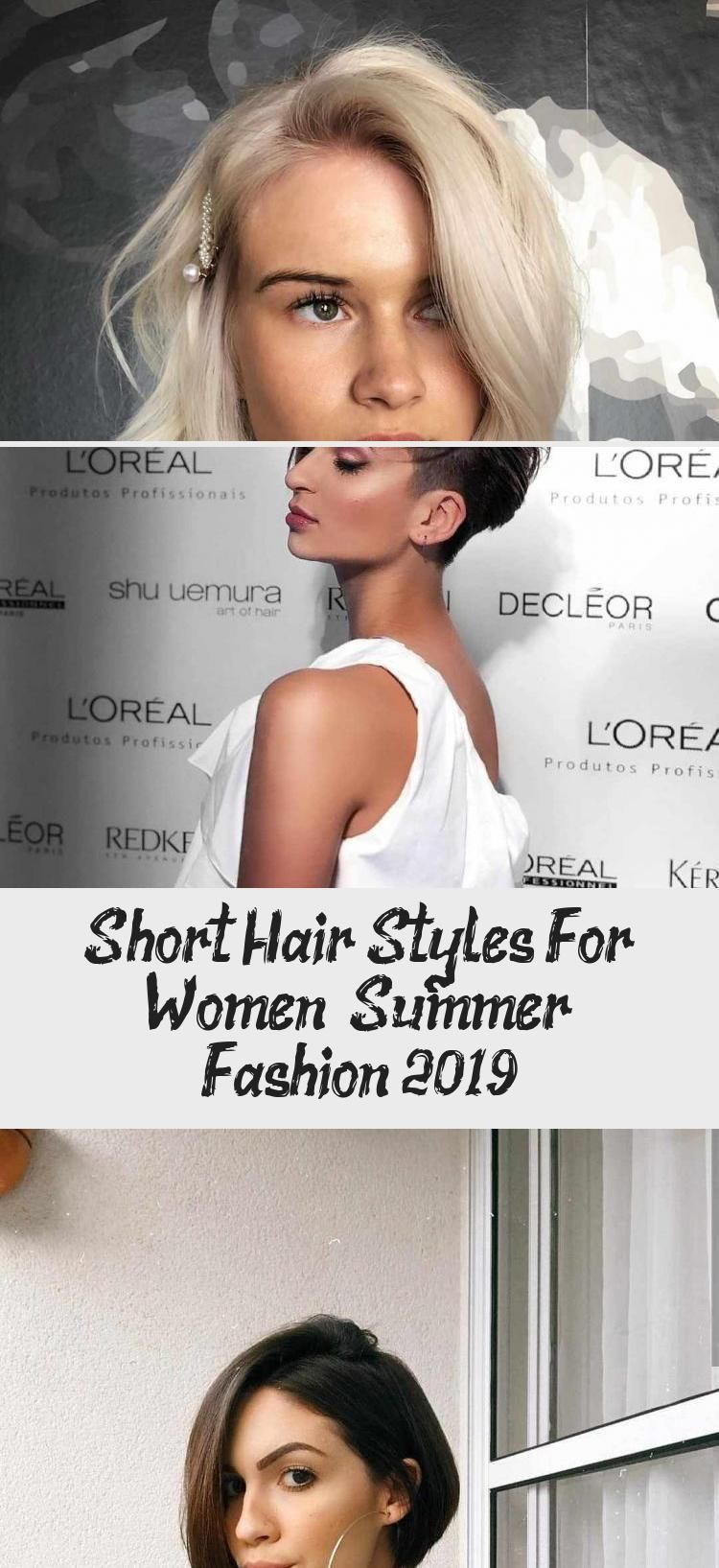 Short Hair Styles For Women – Summer Fashion 12 - Hairstyle in