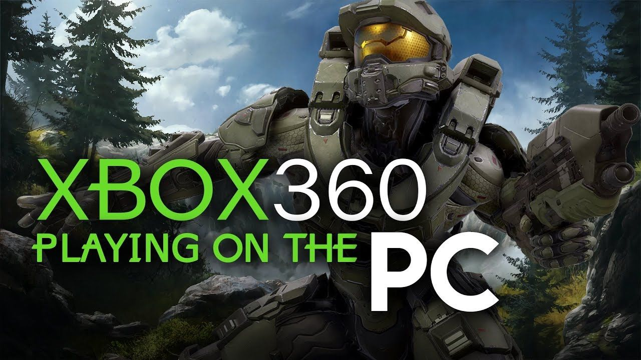 XENIA the XBOX 360 Emulator Playing Halo 3 and much MORE