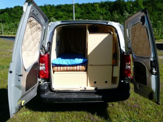 Berlingo citroen am nag en camping car am nagement van for Chauffage interieur voiture