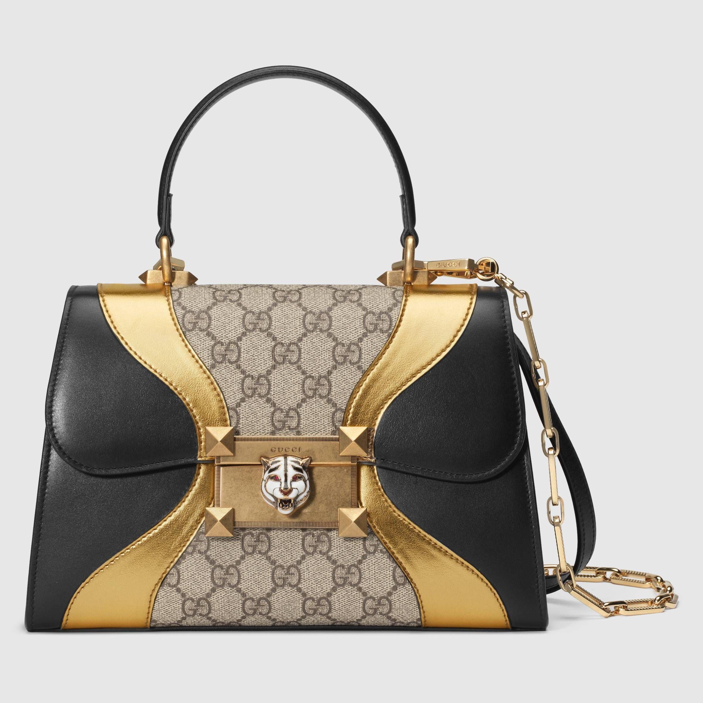 Osiride small GG top handle bag - Gucci Women's Top Handles & Boston Bags  497996DVUZX8754   Women handbags, Bags, Fashion bags