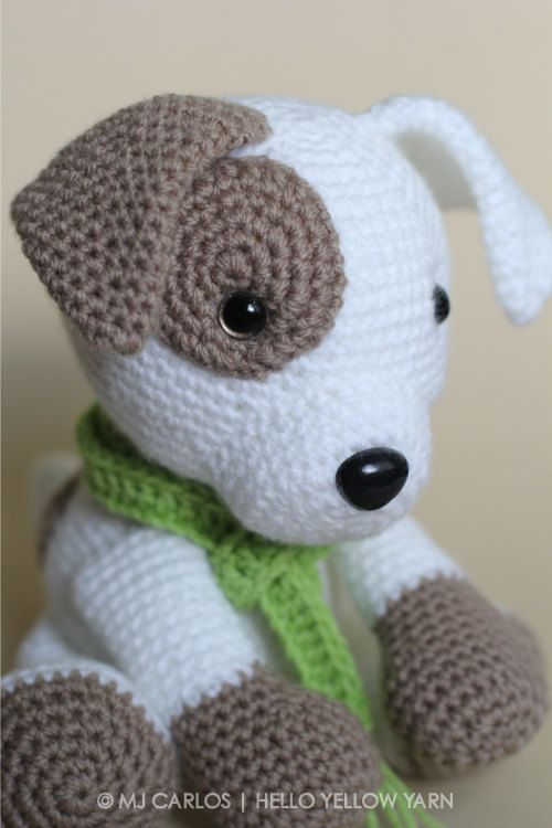 Crochet Amigurumi Puppy Dog Pattern Only Jack Pup Pdf