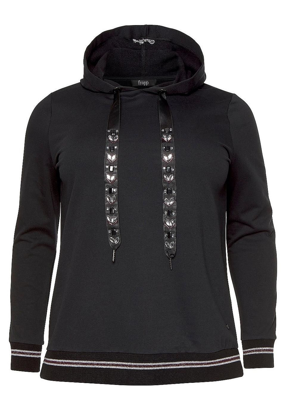 FRAPP Kapuzensweatshirt im BAUR Onlineshop   Curvy ♥   BAUR