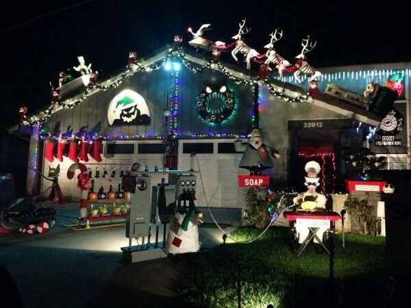 Nightmare Before Christmas Outdoor Decoration