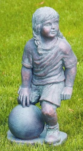Pin By Www Statue Com On Children Garden Statues Basketball Players Cement Garden