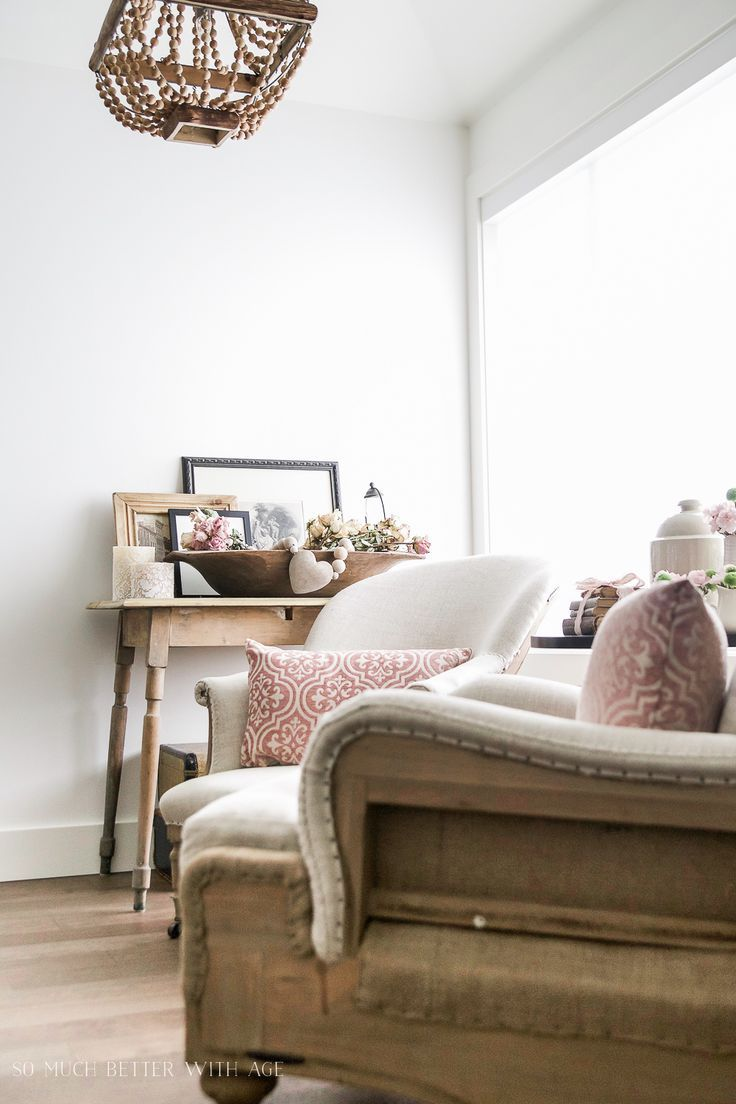 French Vintage Spring Tour By So Much Better With Age Fresh Living Room Style