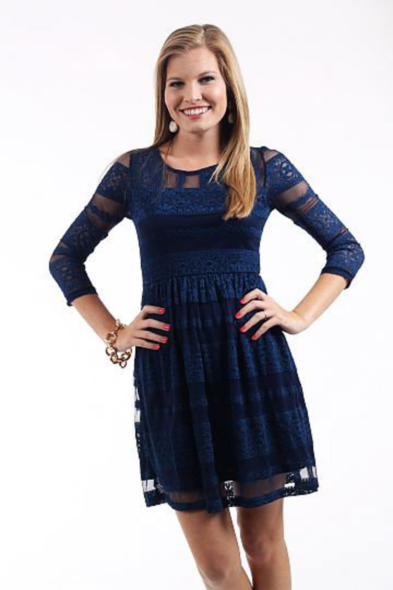 Lines of lace dress blue lace dress dress blues and neckline