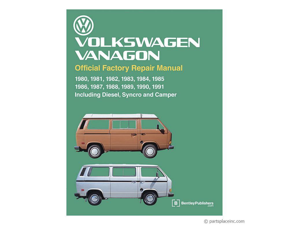 Vw Vanagon Bentley Repair Manual Free Tech Help Repair Manuals Vw Bus T3 Vw Vanagon