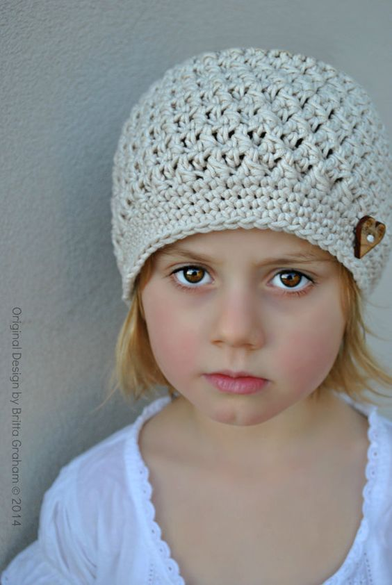 Crochet Hat Pattern In Baby Toddler And Child Sizes Available As