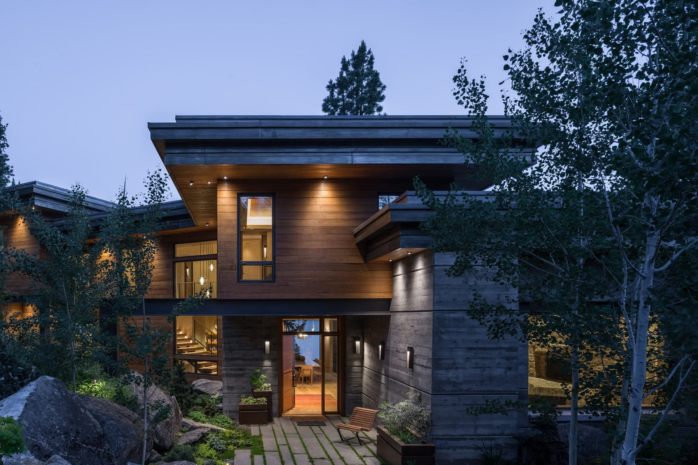 Modern Cliff House By Mccall Design And Planning Wowow Home