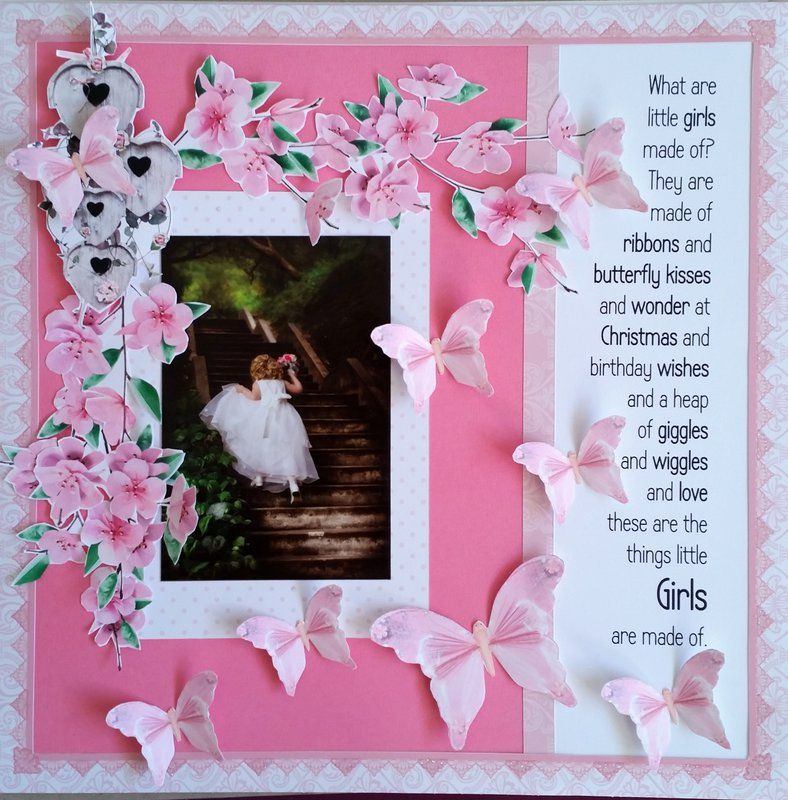 What are little girls made of... Birthday wishes, Little