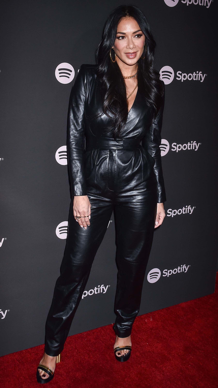 Nicole Scherzinger attends Spotify Best New Artist 2019