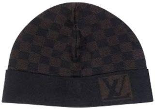 New Designer Mens Belt   Louis Vuitton Beanie Wool Black Damier Hat ... d2e43b8c46b