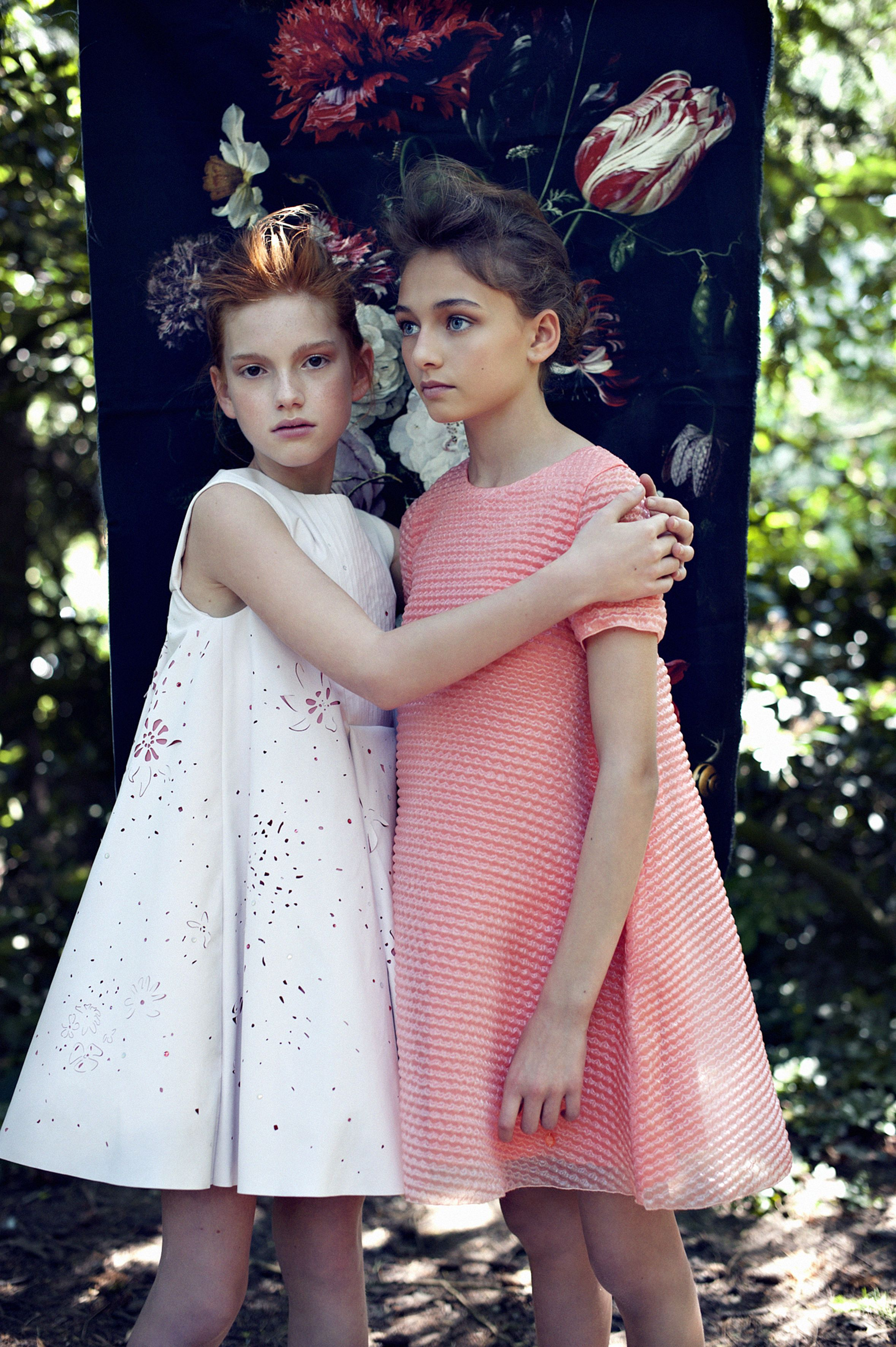 Dior dresses for Hooligans Magazine issue 9 by Nadja Pollack Photography 5347af31b9f