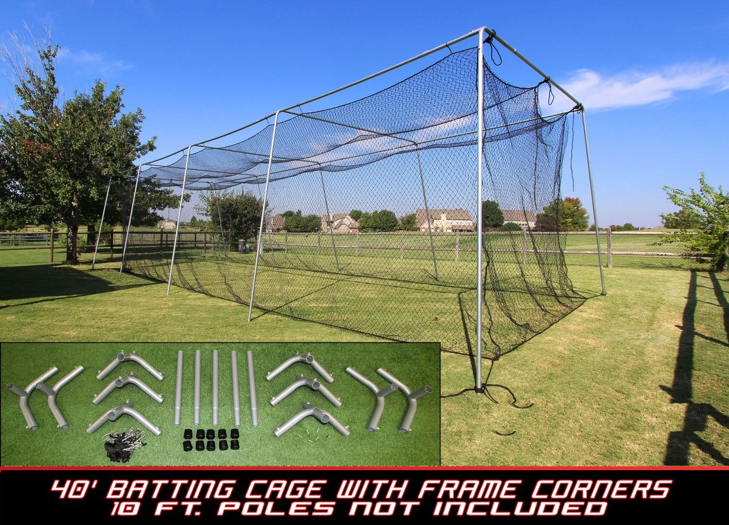 Pin By Best Sports Direct On Batting Cage Nets Batting Cages Batting Cage Net Batting Cage Backyard