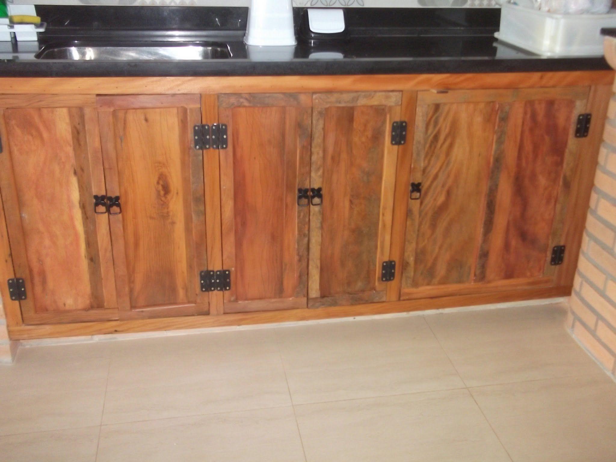 Resultado De Imagem Para Armario De Cozinha De Madeira Pinus
