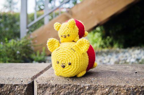 Tsum Tsum Amigurumi Pattern Free : Tsum tsum winnie the pooh crochet patterns i am so happy to