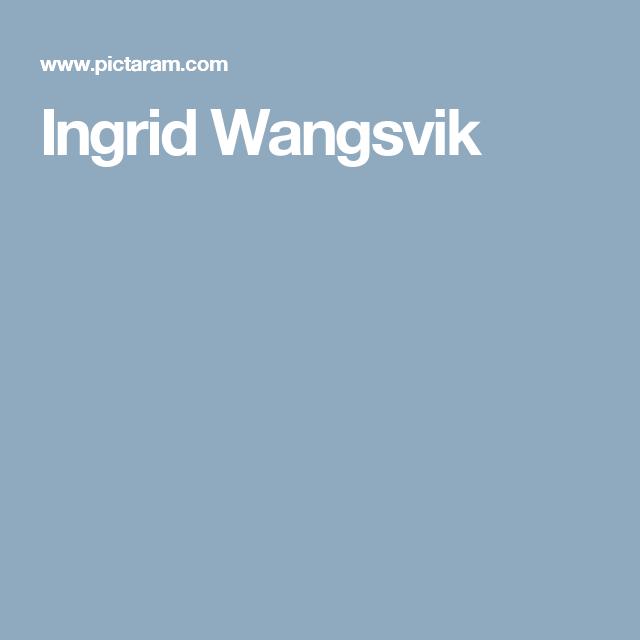Ingrid Wangsvik