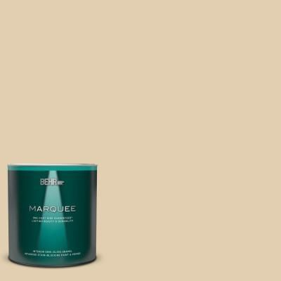 BEHR MARQUEE Home Decorators 1 qt. #HDC-AC-09 Concord Buff Semi-Gloss Enamel Interior Paint and Primer#behr #buff #concord #decorators #enamel #hdcac09 #home #interior #marquee #paint #primer #semigloss