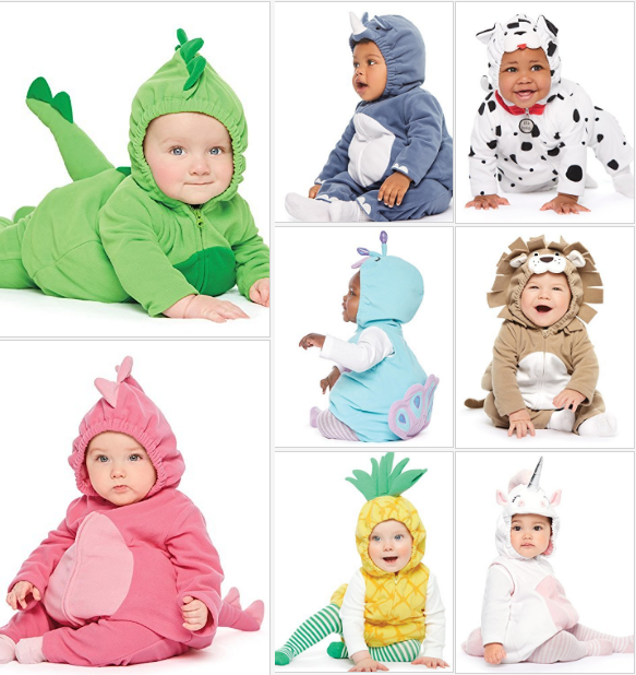 Little Pineapple Costume Carters Baby Girls 3-Pc