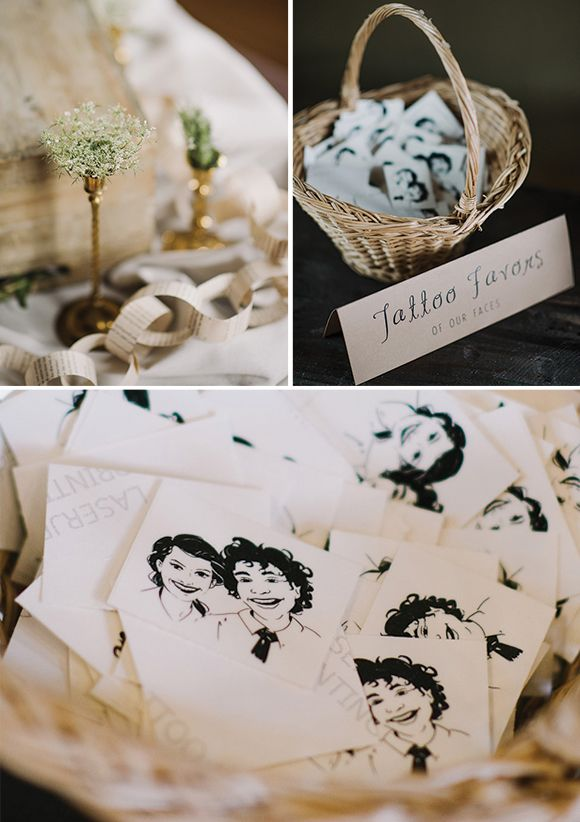 Custom Wedding temporary tattoos and fake tattoos by EasyTatt - Look ...