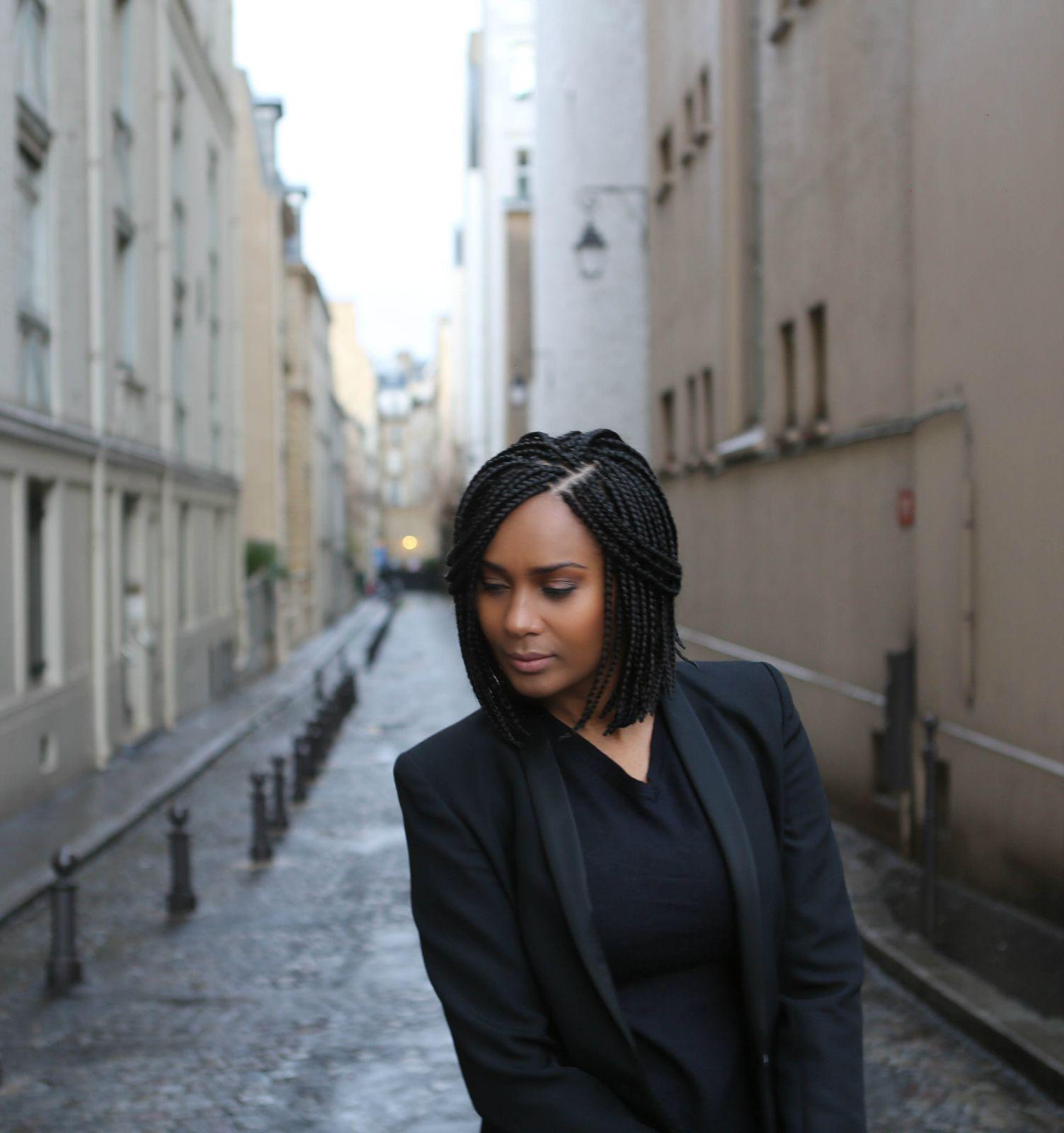 Coiffure mariage afro paris