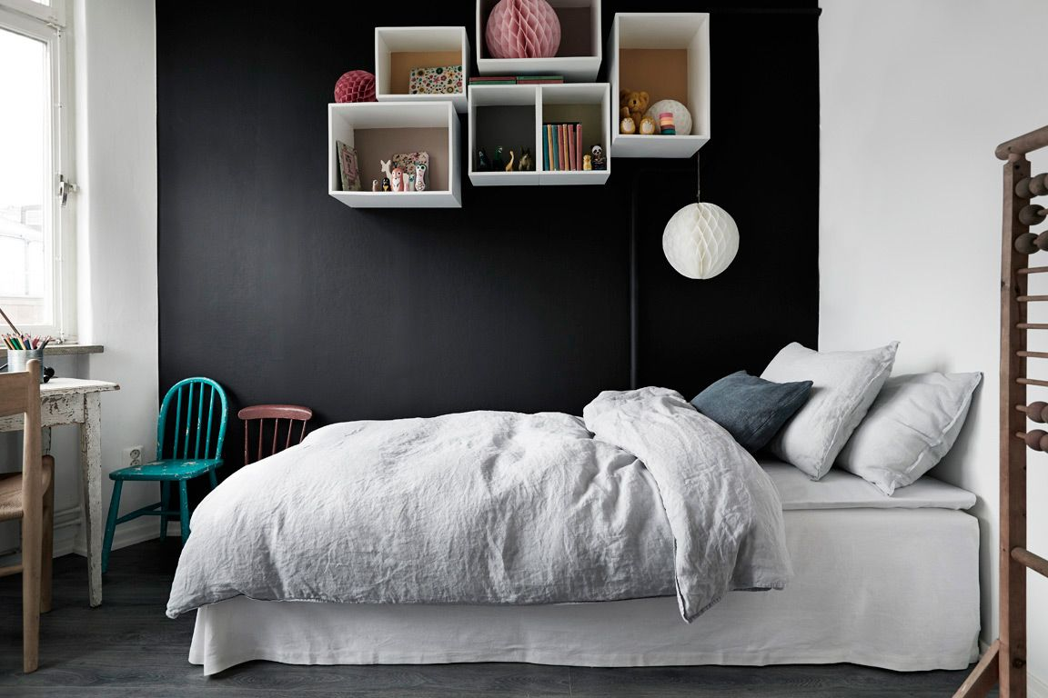 explorez chambres rangements et plus encore - Chambre Mur Noir Paillete