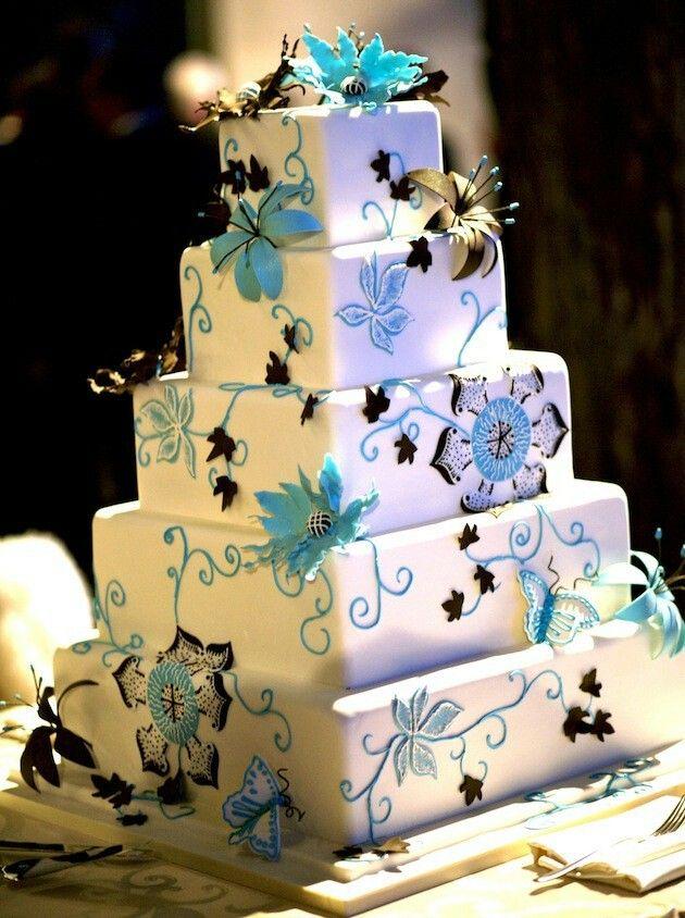 Pin by teri lain on wedding pinterest bridal hair wedding cake wedding square cakessquare junglespirit Gallery