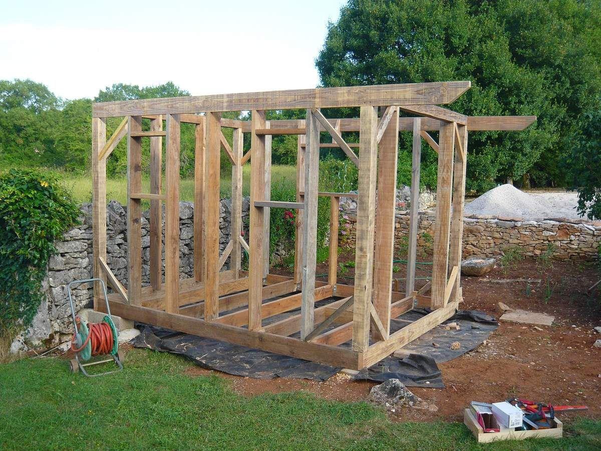 La cabane jardin pinterest les cabanes grands mots for Cabane en bois pour jardin