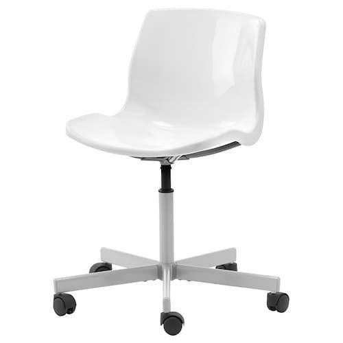 """MICKE Desk - White 28 3/4x19 5/8 """""""