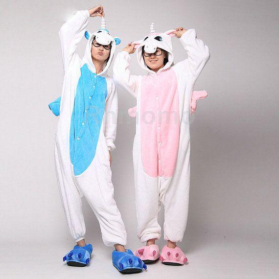 f32010f1ed Onepiece adultos pijamas unicornio unicornio Kigurumi por RnMoMo ...