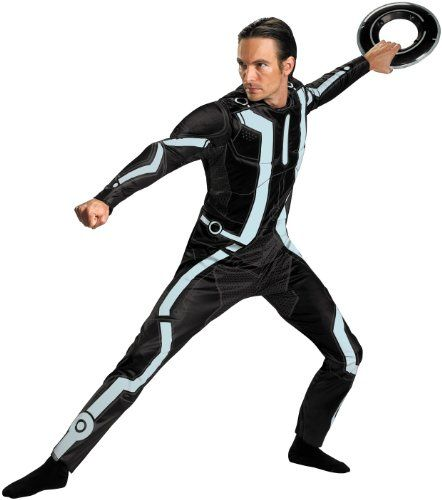 Disguise Mens Disney Tron Legacy Movie Deluxe Costume BlackAqua XLarge ** For more information  sc 1 st  Pinterest & Disguise Mens Disney Tron Legacy Movie Deluxe Costume BlackAqua ...