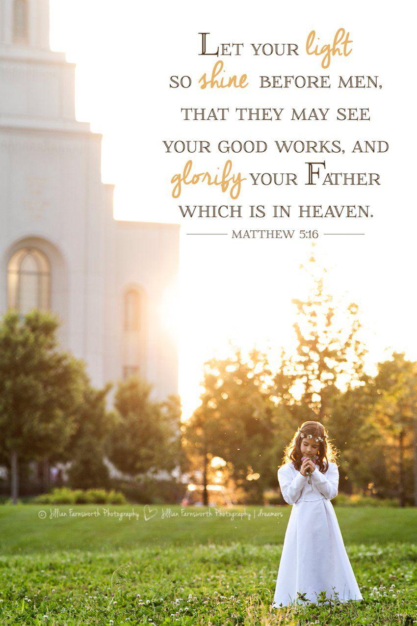 8 year old LDS baptism portraits by Jillian Farnsworth | Kansas City ...