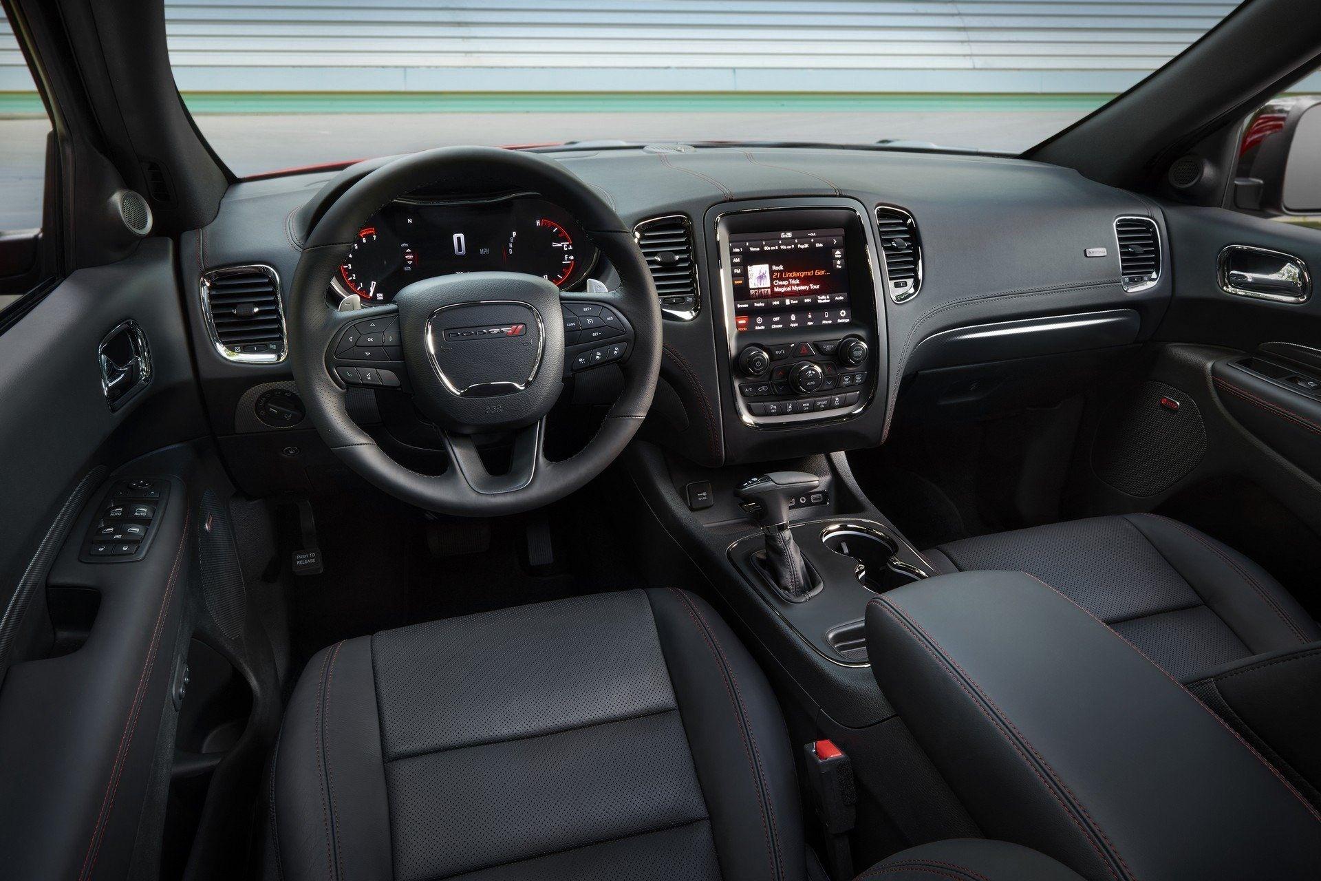 2019 Dodge Durango New Interior Car Review 2018 Dengan Gambar