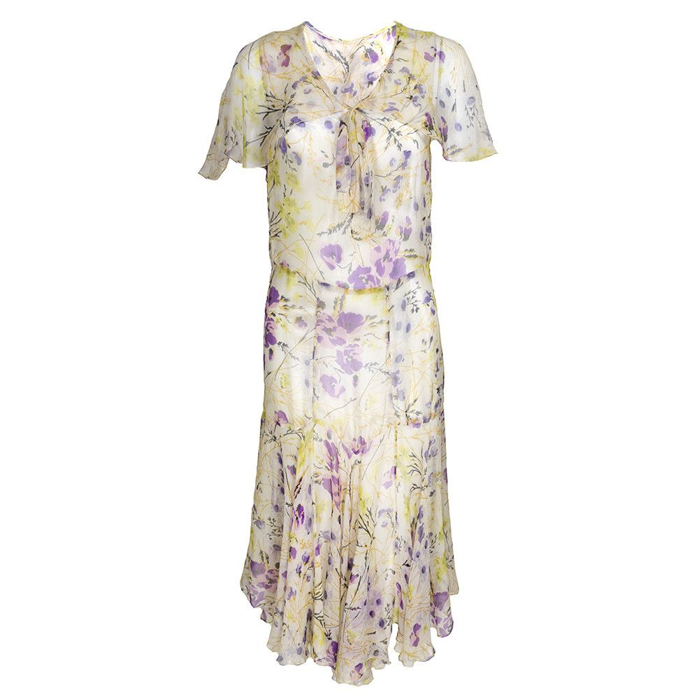 Vintage s watercolor floral dress u the way we wore s fashion