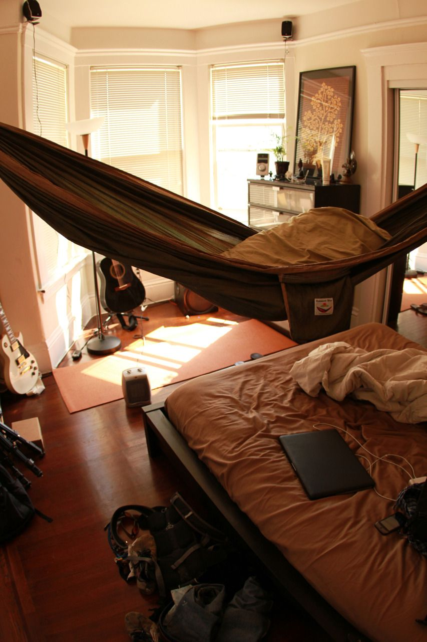 Tumblr Ljgk9v9ilu1qd95h5o1 1280 Jpg 853 1280 Hammock In Bedroom Bedroom Styles Home