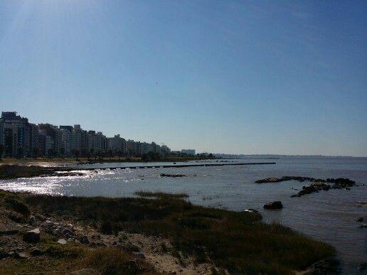 Vista desde Punta Carretas, Montevideo, Uruguay