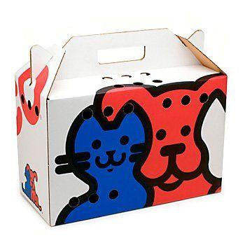 Petco Cardboard Pet Carrier