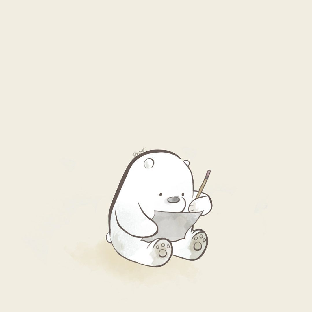 Ice Bear Demands Justice One Three We Bare Bears Watercolour Collection It Dibujos Bonitos Fondos De Pantalla Azules Mejores Fondos De Pantalla Para Iphone