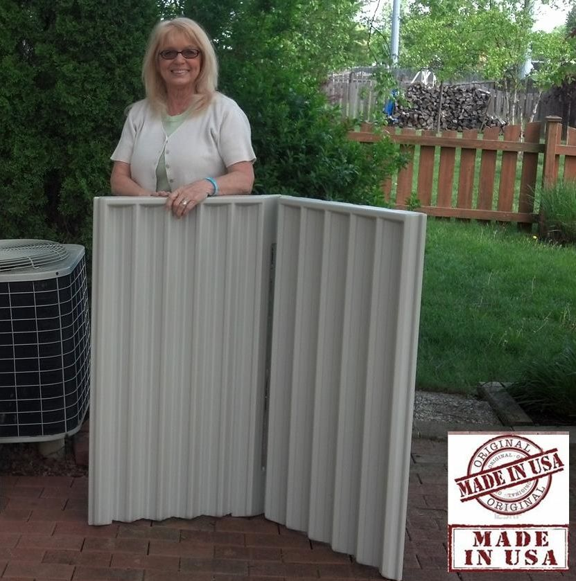 Quiet Fence™ two panel systems using exclusive Hushhh BloX