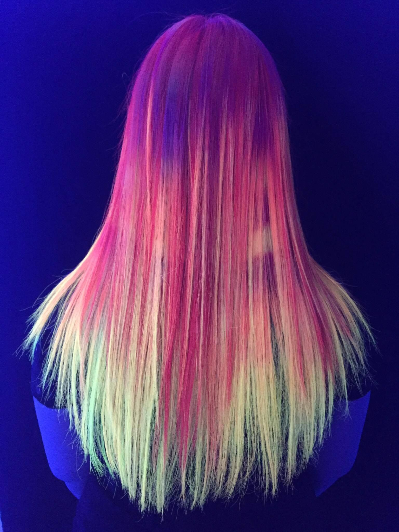 neon hair with the kenra neons contest for this one i ombre u0027d