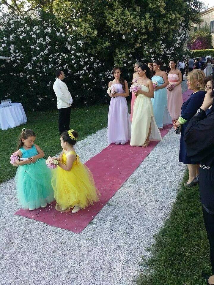 the best attitude 126d0 fab17 Damigelle grandi e piccole | Wedding Time | Matrimonio ...
